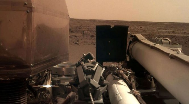 NASA's InSight sends back stunning images as it settles into life on Mars