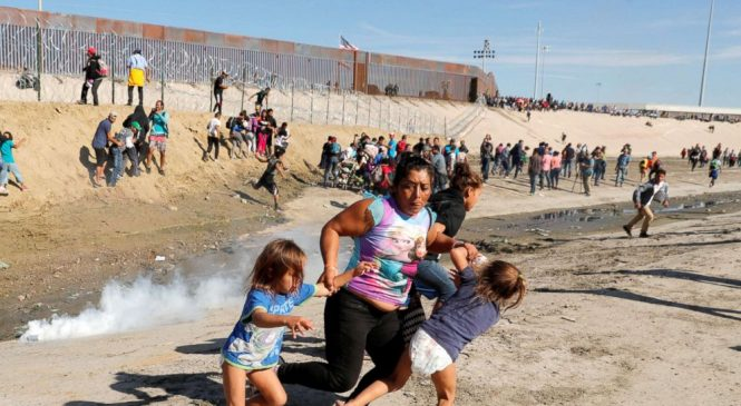 Migrant mother seen fleeing tear gas with children: 'I felt I was going to die'