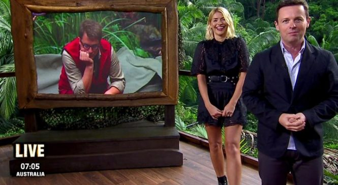 Holly Willoughby joins Dec for I'm A Celebrity debut