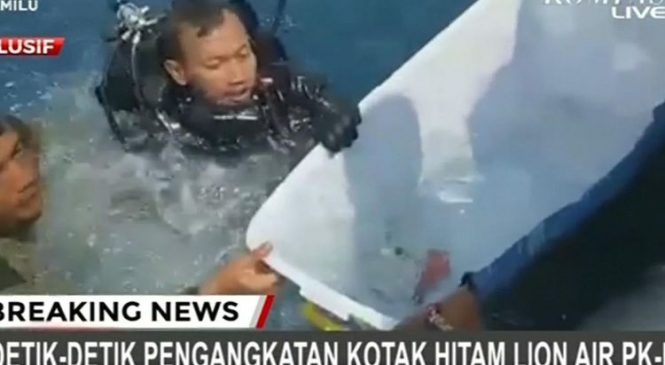 Black box from downed Lion Air plane retrieved