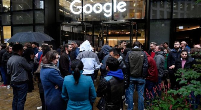 Google rewrites sexual harassment policy after protests