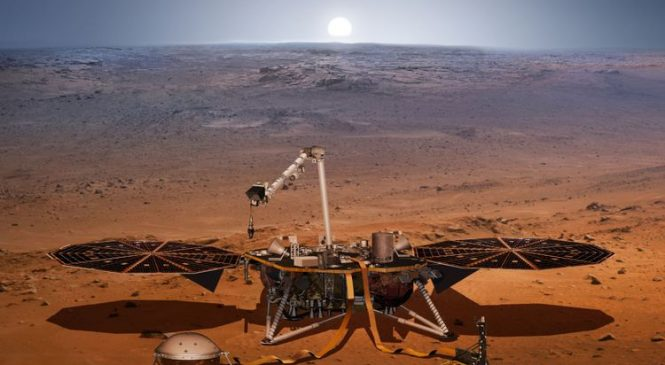 NASA rover sends first image after landing on Mars