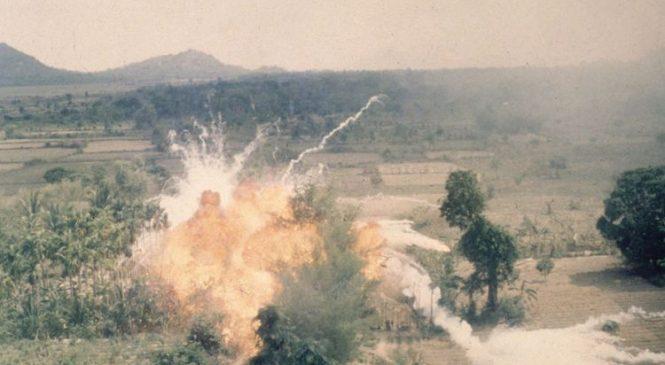 Giant solar flare detonated mines during Vietnam War
