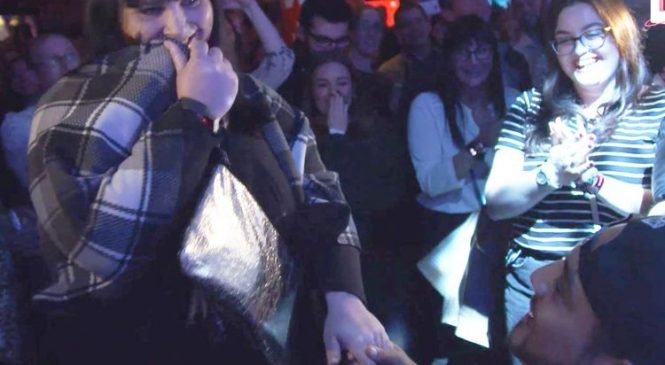 Ed Sheeran stops show to help fan propose to girlfriend