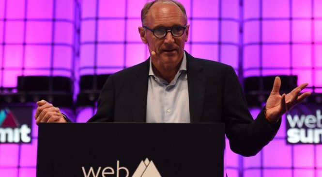 Sir Tim Berners-Lee wants 'revolution' against data misuse