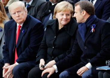 Macron warns: 'The old demons are rising again'