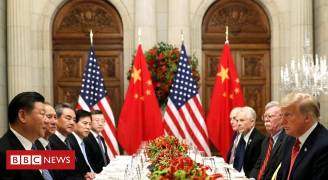 US-China trade war: Deal agreed to suspend new trade tariffs