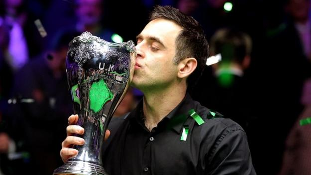 UK Championship: Ronnie O'Sullivan beats Mark Allen to win seventh title