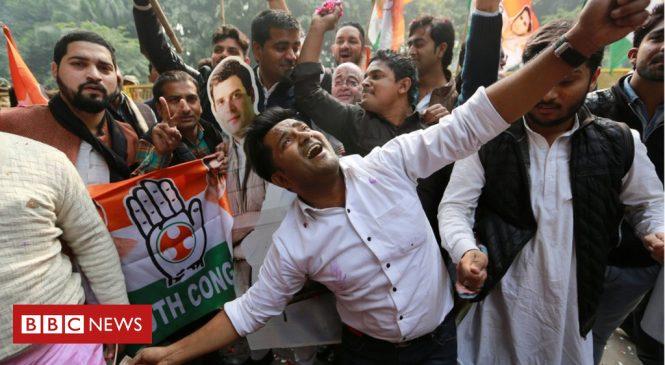 Madhya Pradesh: India election results show nail-biting contest