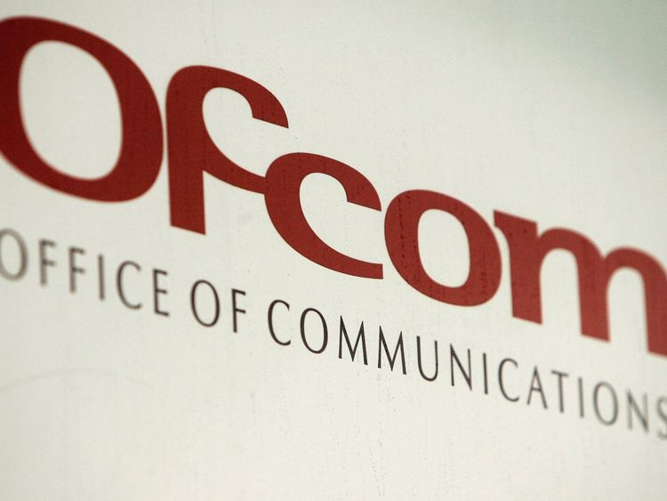 Ofcom regulates the television, radio, telecoms and postal sectors in Britain
