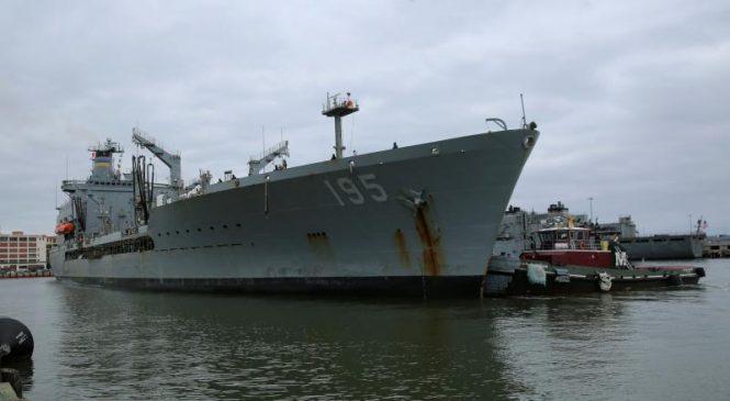 Boston Ship Repair tapped for USNS Leroy Grumman regular overhaul