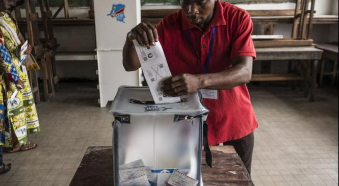Congo voters cast ballots for new president after years of delays