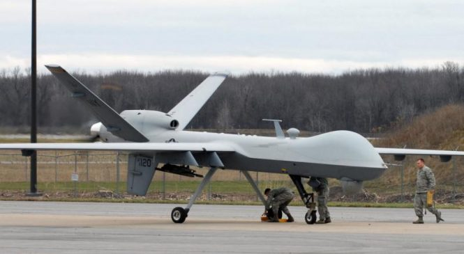 General Atomics, Raytheon contracted for Reaper drone support