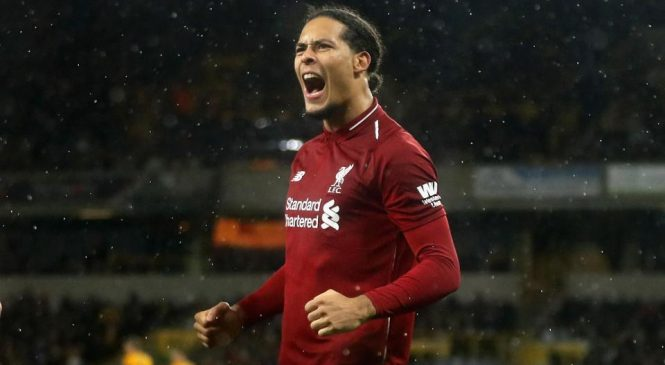 One year on and Liverpool's Virgil van Dijk has 'loved every minute' at Anfield