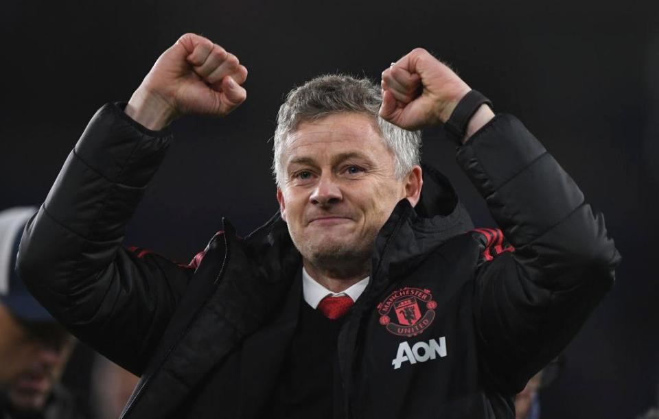 Solskjaer's debut could hardly have gone any better