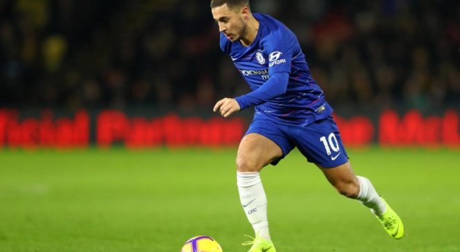 Watford 1-2 Chelsea: Blues back into Champions League places as Eden Hazard proves to be the difference once again