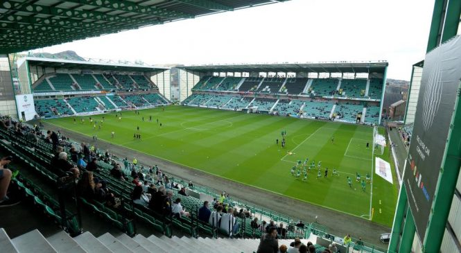Hibernian fan arrested over alleged racial abuse of Hearts ace Clevid Dikamona