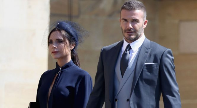 Spend it like Beckham: Couple toast bumper payday