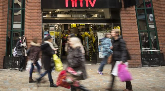 2,200 jobs at risk as HMV collapses into administration