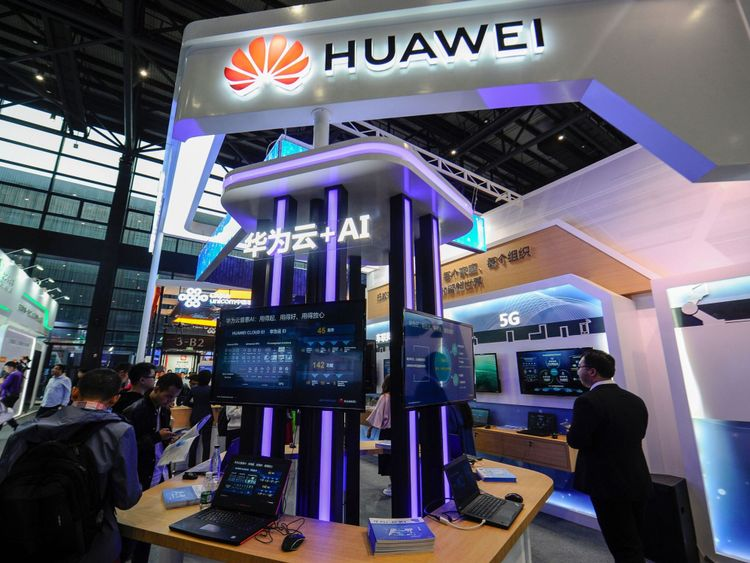 Huawei is the largest tech firm in China