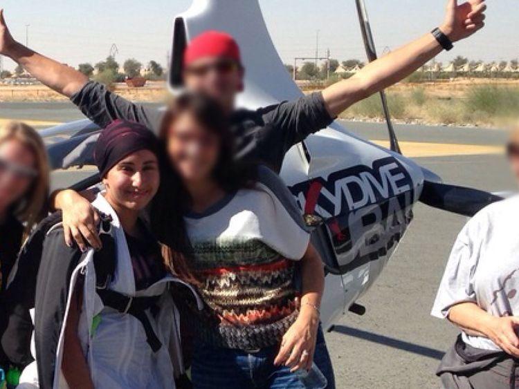 Mr Jaubert said: 'Maybe Latifa did not make it. I'm not sure she is alive'