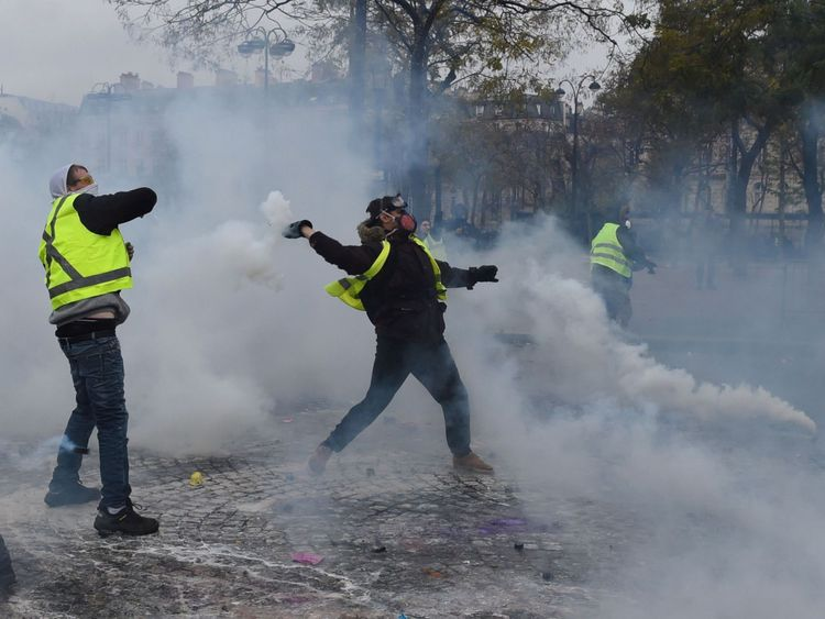 A third rally is expected to take place in Paris later on Saturday