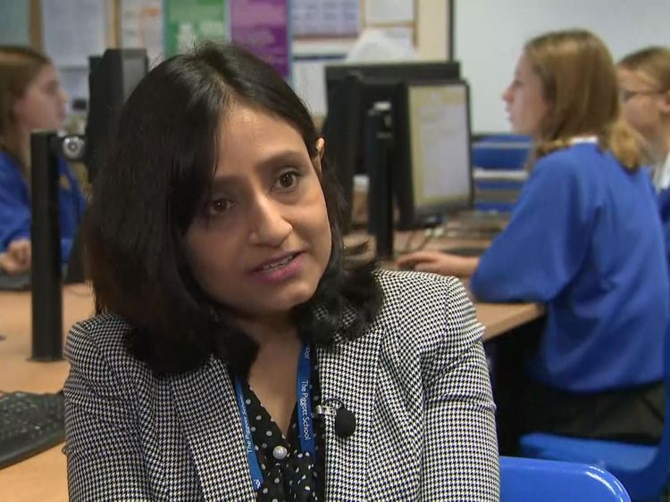 Pat Battacharya has had to explain to male students why the competition is just for girls