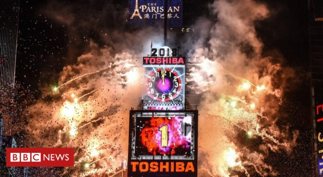 Drone to watch over New Year celebration in New York