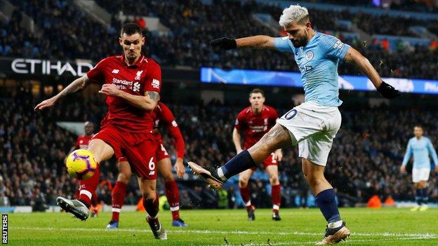 Manchester City 2-1 Liverpool: Champions narrow gap on leaders to four points