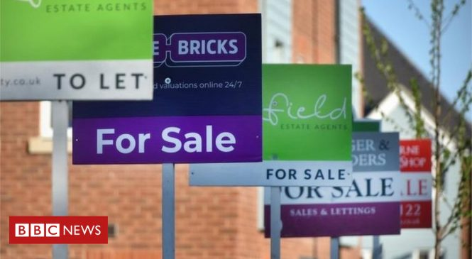 House price growth slowest for almost six years, says Nationwide