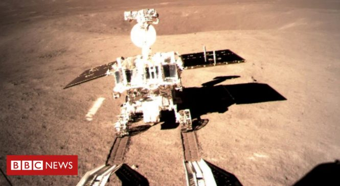 Chang'e-4: Chinese rover now exploring Moon