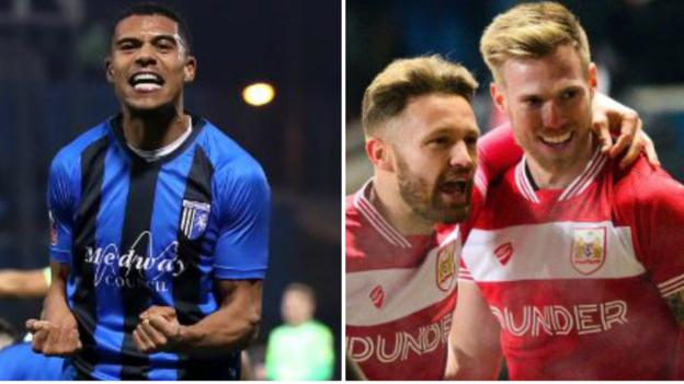 FA Cup round-up: Gillingham shock Cardiff and Bristol City surprise Huddersfield