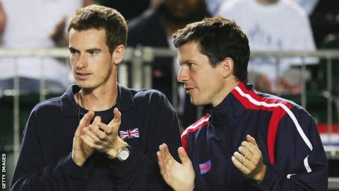 Andy Murray can reflect on 'incredible career', says former team-mate Tim Henman