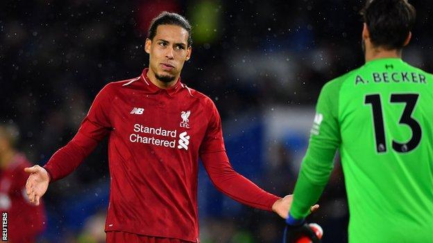 Van Dijk has now been involved in 21 Liverpool clean sheets in 37 games. On a day where Fabinho provided a new central defensive partner he mopped up, organised and led the back four to a largely trouble free afternoon. He also saw more of the ball and played more passes than anyone on the pitch as he regularly stepped into midfield with Brighton offering little pressure on the ball.