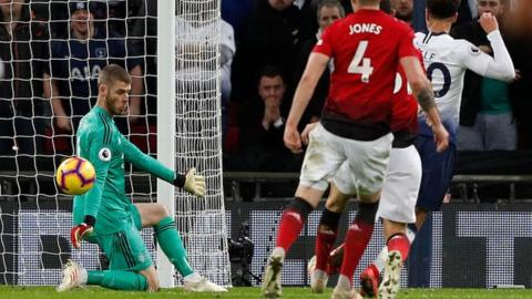 Tottenham 0-1 Manchester United: Ole Gunnar Solskjaer's men hang on to beat Spurs