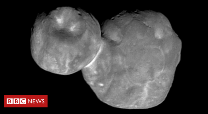 Nasa's New Horizons: Best image yet of 'space snowman' Ultima Thule