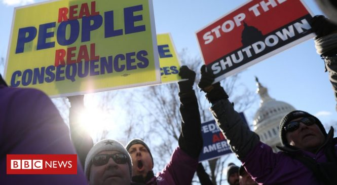 US shutdown: Four reasons why Trump blinked