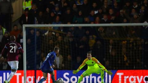AFC Wimbledon 4-2 West Ham United in FA Cup fourth round