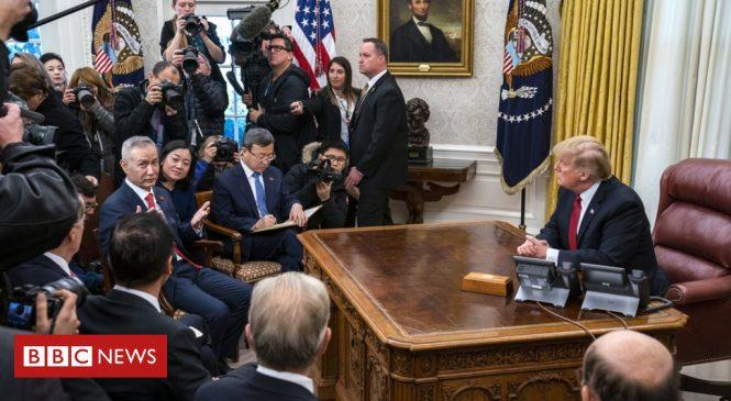 China pledges 'tremendous' US soy purchases