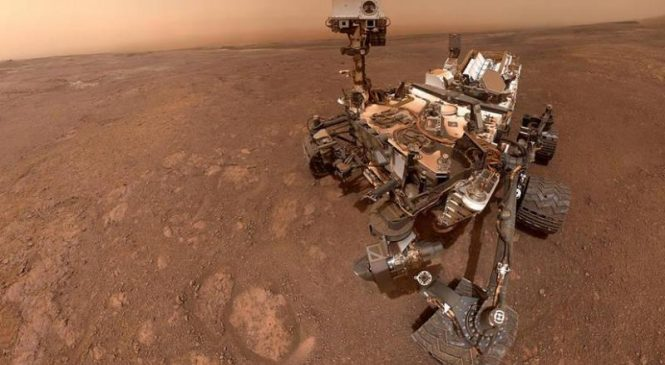 Curiosity rover shares new selfie from the surface of Mars