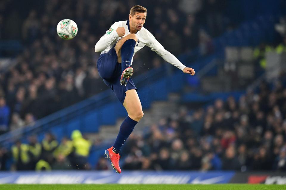 Tottenham star Fernando Llorente