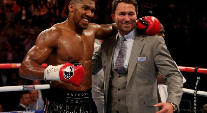 Anthony Joshua next fight: British boxer could face Jarrell Miller in New York in June and NOT Deontay Wilder or Tyson Fury