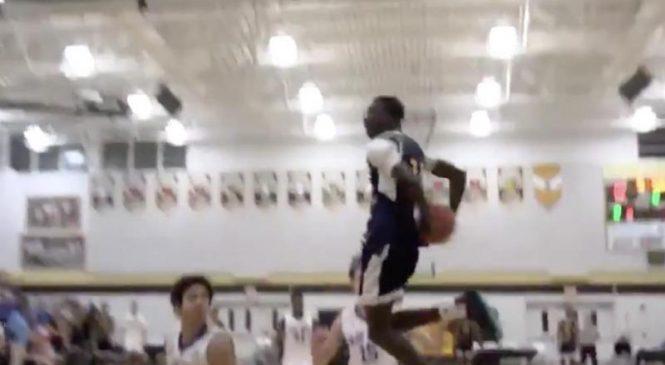 Watch: Huntington Prep's Jimma Gatwech provides high school dunk of season