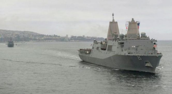 U.S. Navy tests two-ship littoral combat group with South America deployment