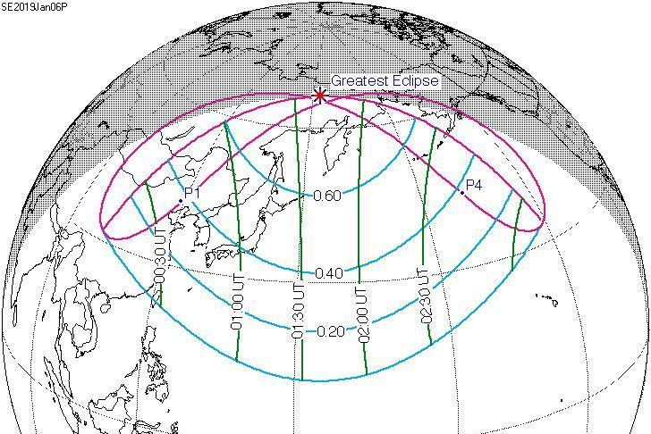 Partial solar eclipse to cast lunar shadows across Asia, Alaska