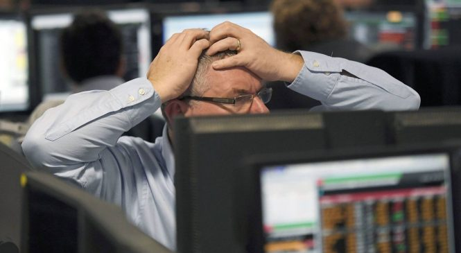 FTSE 100 suffers biggest one-year fall since 2008