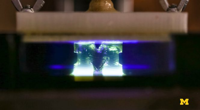 Light powers faster 3D printing