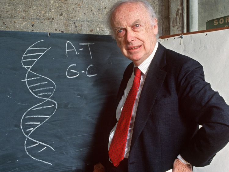The 90-year-old geneticist lost his job at the New York laboratory in 2007