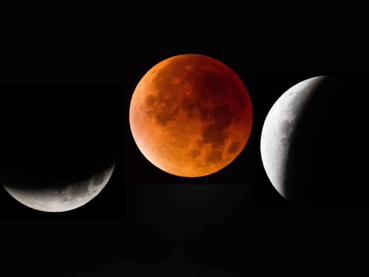 How to see super wolf blood moon hitting UK skies