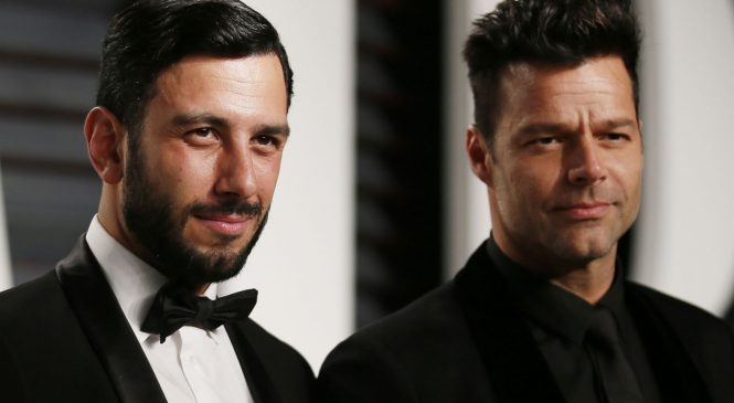 Ricky Martin and husband reveal birth of daughter